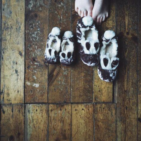 slippers c/o Boden