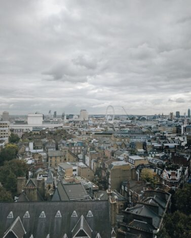 this is the view from google HQ